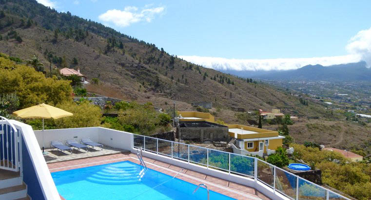 Appartement La Palma Pool Meerblick mieten
