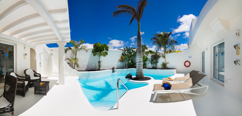 Luxusurlaub in Corralejo mit Pool