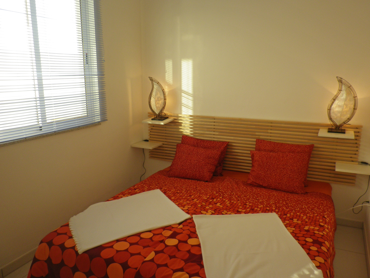 Schlafzimmer des Apartments in Costa Calma